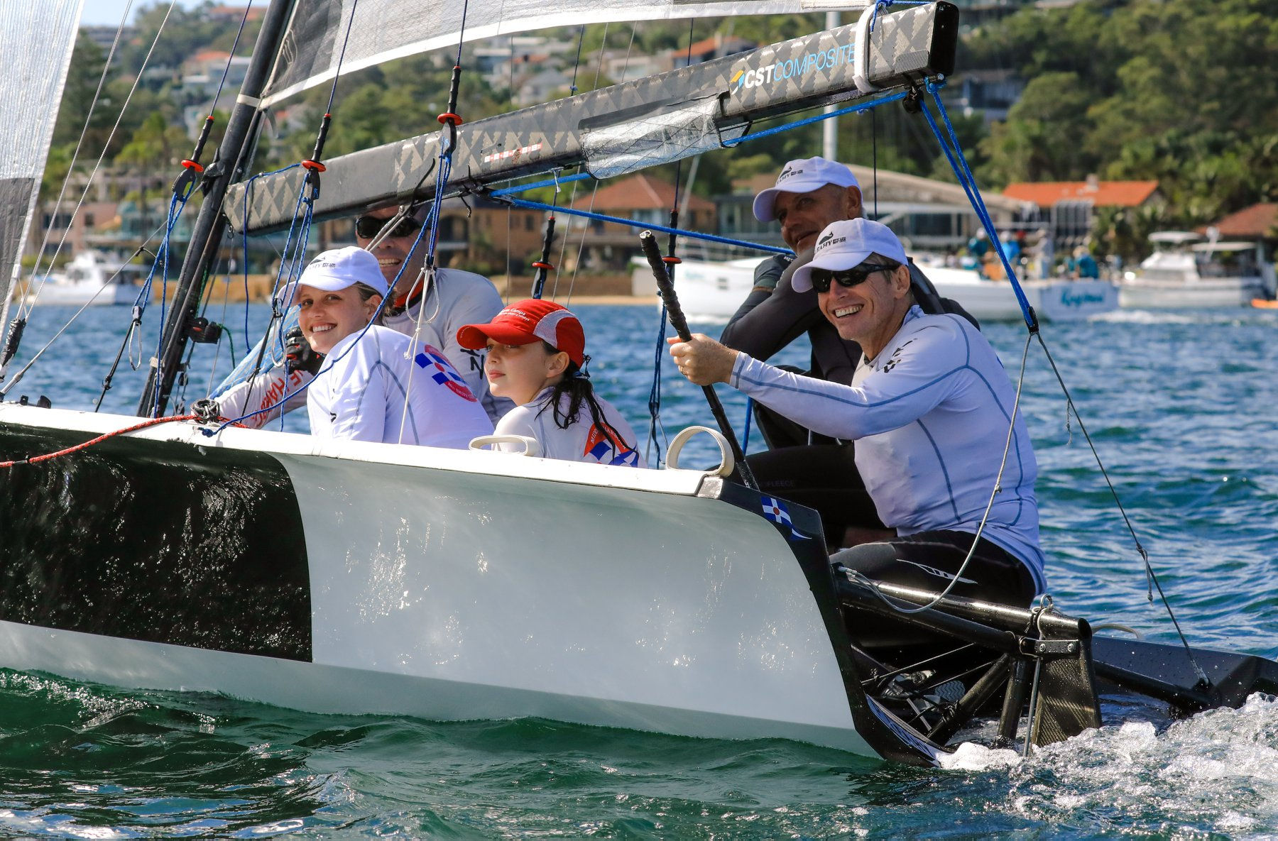 Youth's hijacking the Skiffs on Sydney Harbour