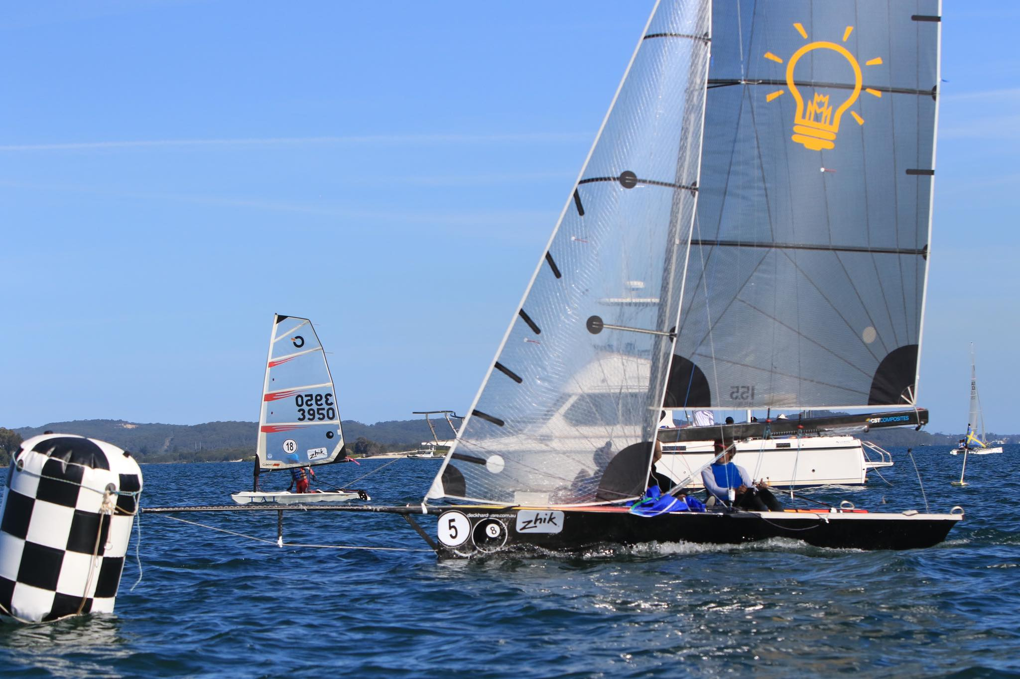 Ross Bell Electrical 2019 Australian CHS Secondary Schools Sailing Champions